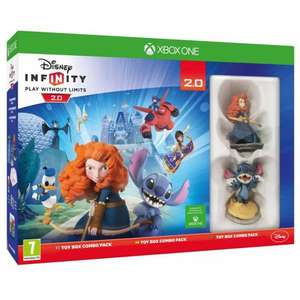 Disney Infinity 2.0 Toy Box Combo Xbox One/PS4/PS3 and Wii U £34.99 @ Smyths