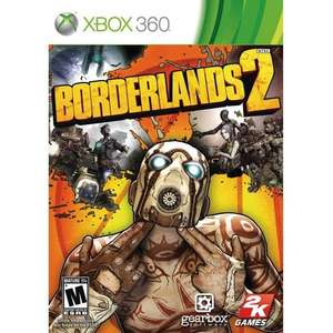 Borderlands 2 Xbox 360(new) £3.00 @ Tesco Direct