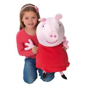 Peppa Pig 60cm Plush £14.99 @ Smyths Toy store