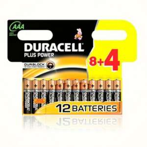 Duracell batterries AA or AAA from £5.47 delivered @ Groupon