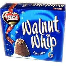 6  pack of Walnut Whips £2 Iceland