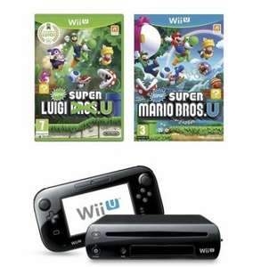 Wii U Premium Pack (Mario & Luigi) - £199.20 - The Brilliant Gift Shop