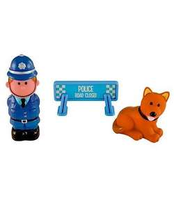 50% off at Mothercare - Happyland Police Set - £5 down to £2.50