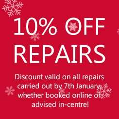Halfords autocentres Sale 10% off Servicing and repairs