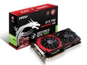 MSI GTX 980 Gaming 4GB GDDR5 Dual Link DVI-I HDMI DisplayPort PCI-E Graphics Card + FREE GAME £419.99 @ Ebuyer