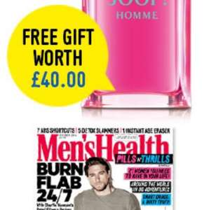 FREE Joop fragrance worth £40 when you subscribe today to Mens Health at Hearst Magazine! £22