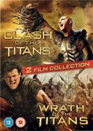 Clash of the Titans / Wrath of the Titans Double Film Pack (DVD) £3.99 Delivered @ GAME