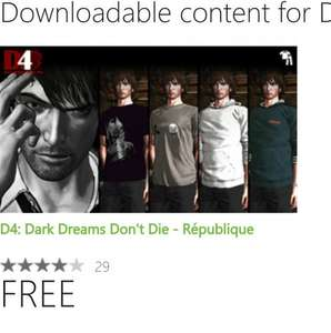 D4 Republique Clothing DLC xBox One Free