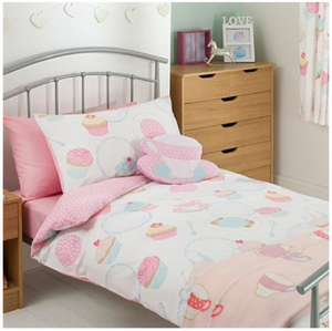 Asda Direct Tea party duvet set - single £3.50 with code