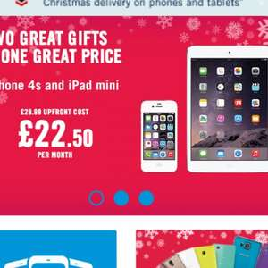 Iphone 4a and iPad mini bundle instore from £569.99 @ CPW