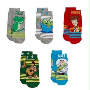 5 pack of toy story socks £2 @ mothercare