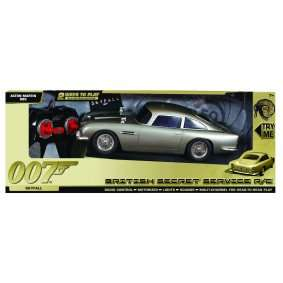 James Bond RC Aston Martin DB5 Car with lights and sound  £24.99 @ Maplin