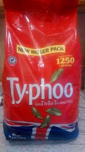 1250 Typhoo tea bags £9.99 costco