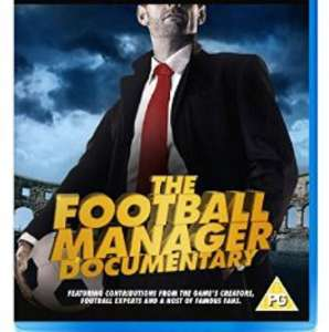 An Alternative Reality, The Football Manager Documentary [bluray] £5.99 @ Game