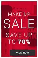 Up to 70% off Makeup Sale plus buy 5 get 1 one free on certain brands @  Fragrance Direct