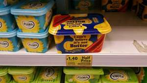 I can't believe it's not butter 1KG half price,£1.40 @ tesco instore and online