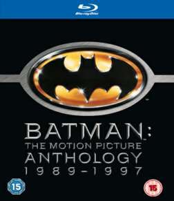 Batman Motion Picture Anthology Blu-Ray  £5.99 @ Game
