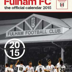 Fulham FC 2015 Calendar £1.99 @ Amazon  (free delivery £10 spend/prime)
