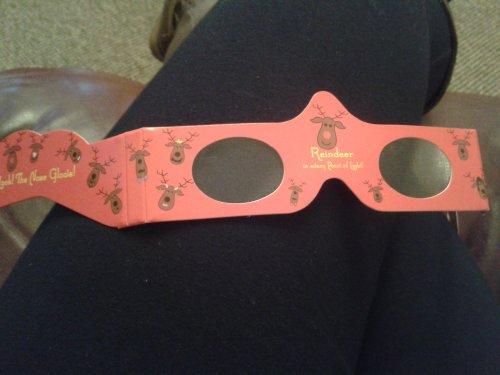 Magic Christmas Glasses FREE @ Homebase