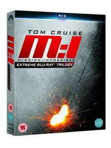 Mission: Impossible Extreme Blu-ray Trilogy @ £10 Prime Amazon