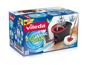 Vileda Easy Wring and Clean Microfibre Mop and Bucket with Power Spin Wringer £15.00 delivered @ Amazon