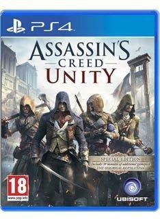 Assassin's Creed V Unity - Special Edition X1&Ps4 for £23.85 @ deals.simplygames.com