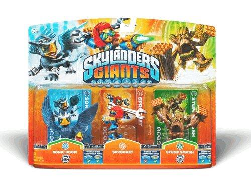 Skylanders Giants Triple Character pack £2.99 @ GAME