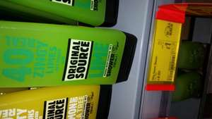 original source shower gel £1.00 @ Asda instore