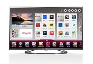 LG 42LA641V 42 Inch Full HD 1080P 3D Freeview HD Smart Led TV With Built In WiFi - £382.99 - eBay/Argos