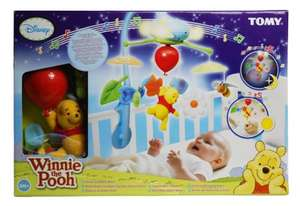 Winnie the Pooh Dream Clouds Cot Mobile 249/7790 £7.45 Argos Clearance Walsall in-store only RRP £41.99