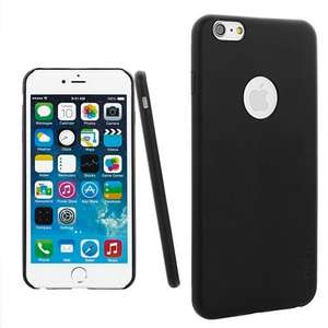 iPhone 6 Case [Thinnest] Leather Back Cover - Black Free Shipping £6.50 @ Amazon Sold by ForPower(aLLreli TM) and Fulfilled by Amazon.