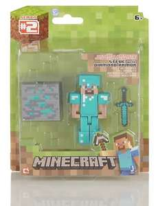 Minecraft Steve Action Figure was £8.50 now £4.25 online @ M&S - click & collect