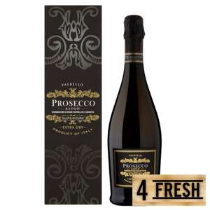 Morrisons prosecco gift boxed £8.49