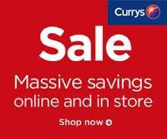 Currys Boxing Day Deals *LIVE NOW* (online at 7pm 24th, in store 8am Boxing Day)