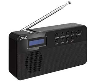 LOGIK L2DAB12 Portable DAB Radio - £14.99 Delivered - Currys / PC World