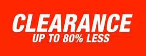 TK Maxx up to 80% Clearance Sale