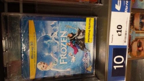 Frozen 2d/3d blu ray £10 instore @ sainsburys