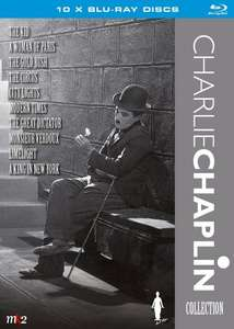 Charlie Chaplin Blu Ray Collection 10 films £29.90 (Swedish release) - Sold by Futuremovieshop and Fulfilled by Amazon