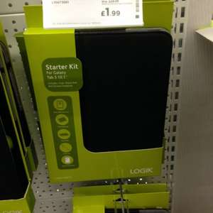 Logik Galaxy Tab 10.1'' Starter kit - leather case, stylus and screen protector - Down from £29.99- £1.99 @ Currys