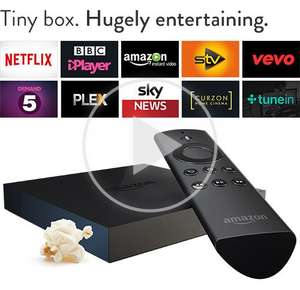 Amazon Fire TV £64  by Amazon + FREE Super Saver Delivery (£59 if paying by MasterCard using code, see below)