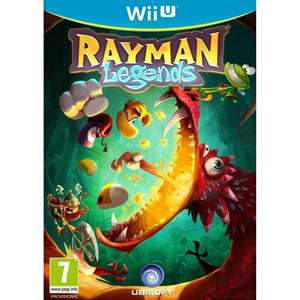 Rayman Legends Wii U ONLY £5.00 @ Tesco Direct + 0.5% Quidco