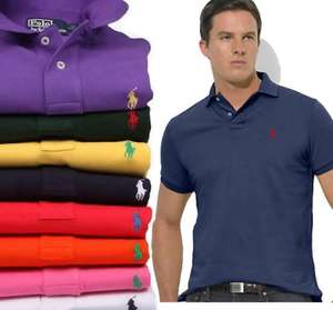 Ralph Lauren polo shirts from £25 at Selfridges, were £70