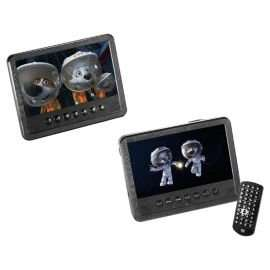 Twin In-Car 7 Inch DVD Player £37 Delivered To Store By Tesco