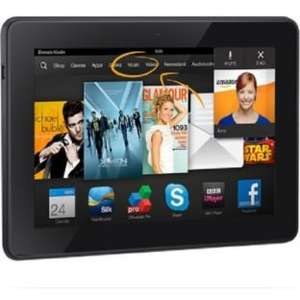 Kindle Fire HDX 8.9 inch 16GB 4G at Argos