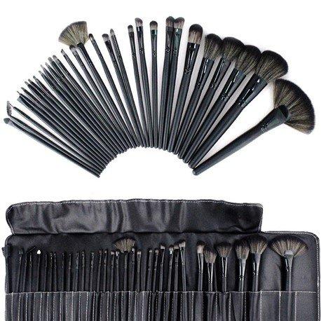 Pro 32 PCS Makeup Brush Cosmetic Set Kit Case + Pouch Bag £9.99 @ Ebay Shop