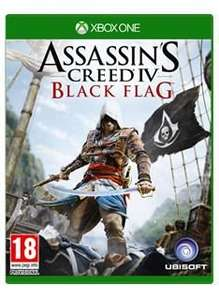 Xbox one assassins creed iv black flag instant code download £6.99 @ simplygames