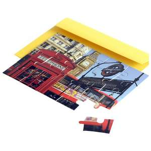 Jigsaw Greeting Card Westminster Station £1.48 John Lewis