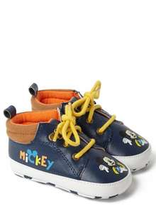 Baby boys Mickey Mouse Trainers £3.50 BHS, 0-3, 3-6month