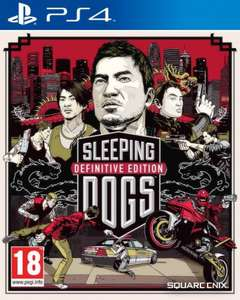 Sleeping Dogs - The Definitive Edition PS4 £14.97 @ GameStop