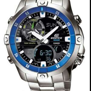 Cheap Casio edifice watch £90  (£83 after voucher and quidco) @ Watch Warehouse
